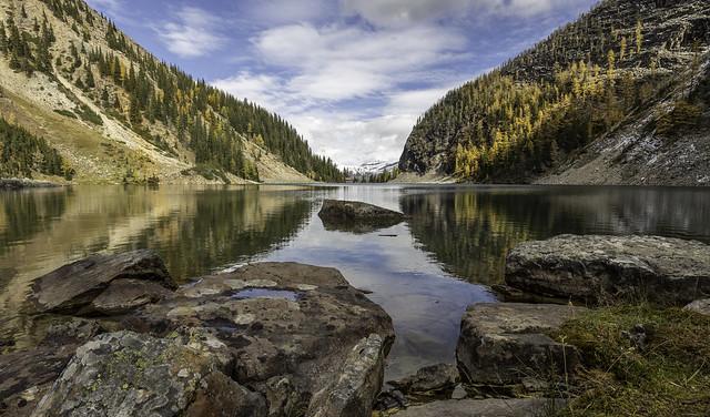 Lake Agnes Larch Season, Canon EOS 5DS R, Canon EF 16-35mm f/4L IS USM