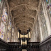 Capela do King's College/Cambridge/Inglaterra