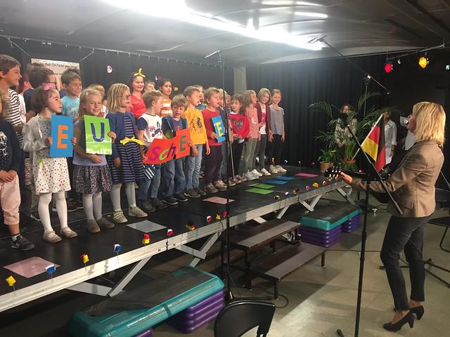 Jubilé des 30 ans de la section germanophone et des 25 ans de la section Abibac de la cité scolaire internationale de Lyon