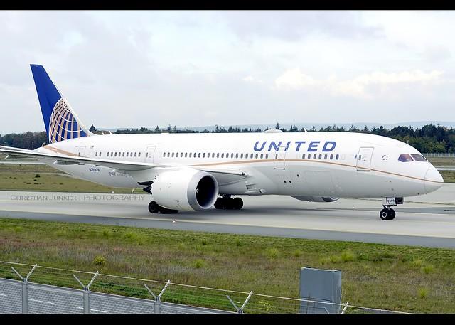 Boeing | 787-8 | United Airlines | N26909 | Frankfurt/Main | FRA | EDDF