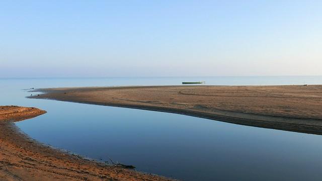 Quite morning at lake
