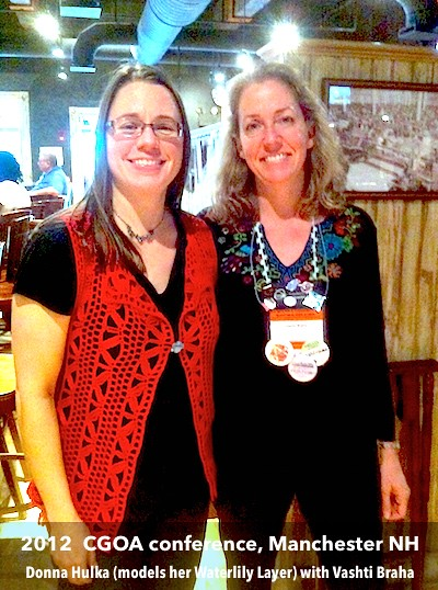 Waterlily Layer Donna Vashti CGOA