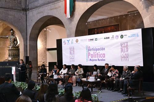 Comisión de Justicia. Seminario: La Participación Política de las Mujeres Rurales 17/Oct/17