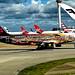 OO-SNF Airbus A320-214 BEL London Heathrow