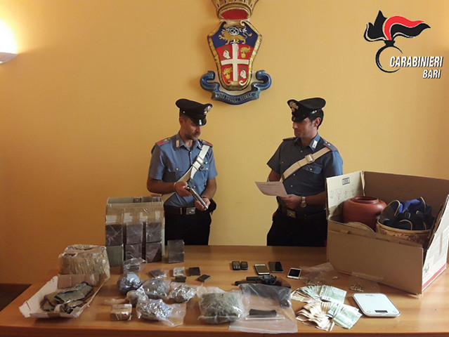 mola arresti per droga