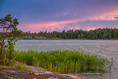 Sunset in the archipelago