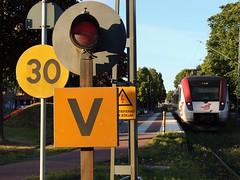 Mora Strand, Swedem (with a Tag i Bergslagen (TiB) X54 Regina EMU)
