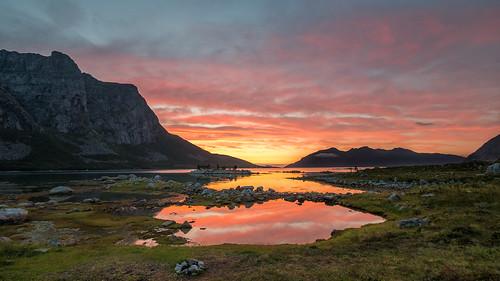 summernight in Grøtfjord