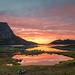 summernight in Grøtfjord by John A.Hemmingsen