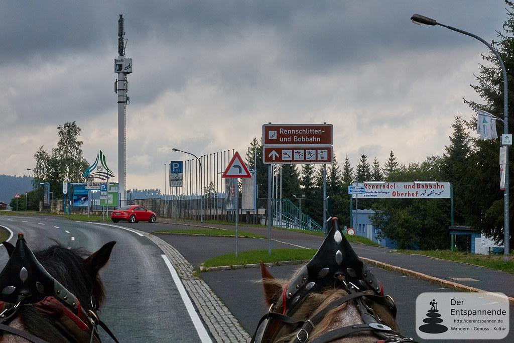Planwagenfahrt zu den Sportstätten Oberhof