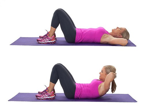 Basic-Crunch-Exercise