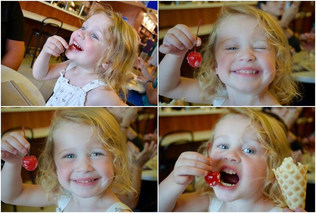 she loves cherries