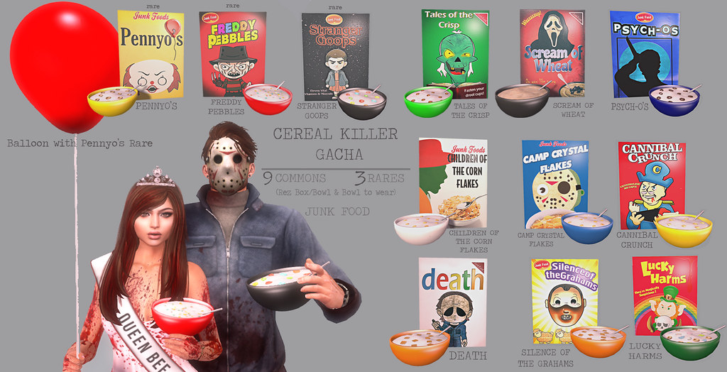 Junk Food - Cereal Killers Gacha - TeleportHub.com Live!