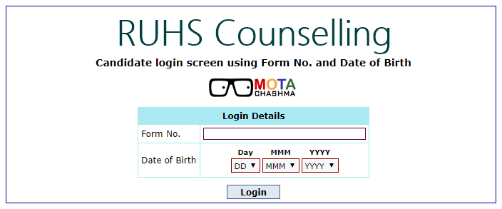 RUHS Counselling