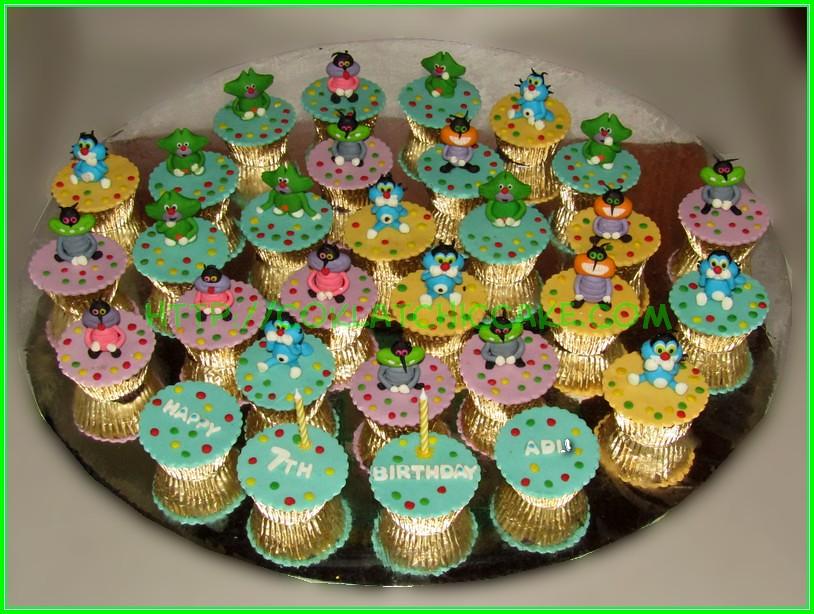 Cupcake set Oggy ADLI