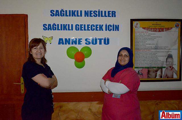 ALKÜ Alanya Eğitim ve Araştırma Hastanesi Yönetim Birimi Emzirme Haftası etkinlik-7