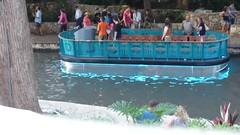 San Antonio's ---NEW--- River Walk barges (Sun., 10/1/17)