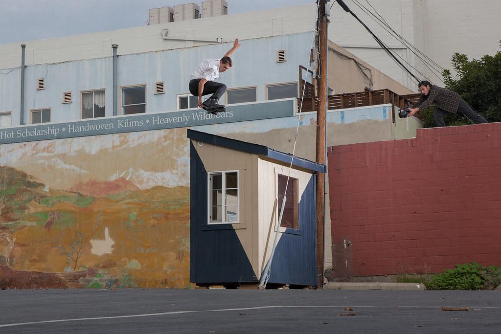 Michael Braud / Stale Japan 180 / Berkeley