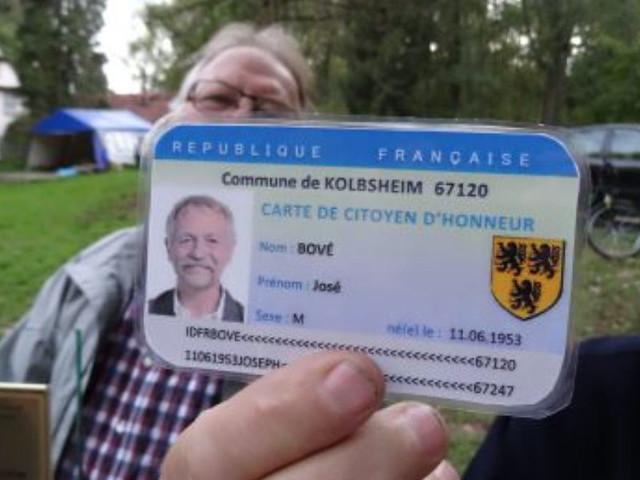2017-1004 #GCO José Bové citoyen de Kolbsheim sur la ZAD du Moulin