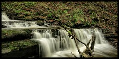 Scaleber force waterfall settle north Yorkshire