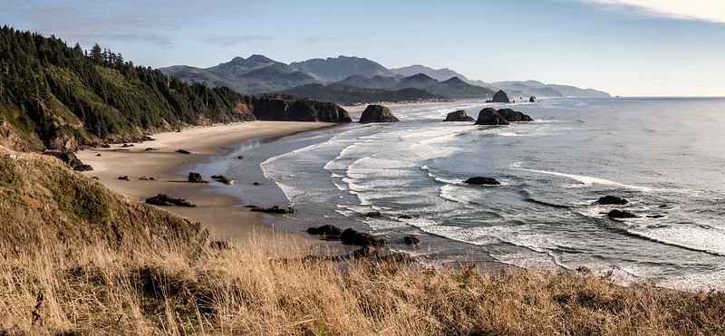 Crescent Beach and Cannon Beach, OR