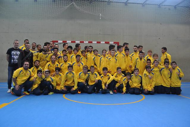 Presentació equips futbol federat