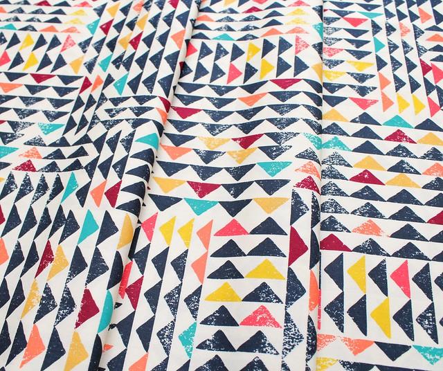 Art Gallery Fabrics Indie Folk Trojkat Sunrise