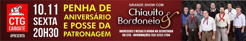 10-11 Penha de Aniversário CTG Caiboaté - Chiquito e Bordoneio