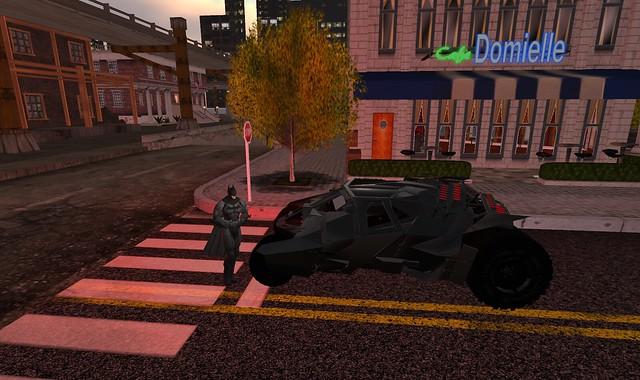 Batman&Batmobile Tumbler
