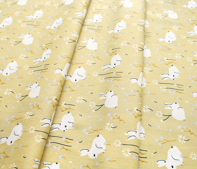 Birch Fabrics Little White Bunny