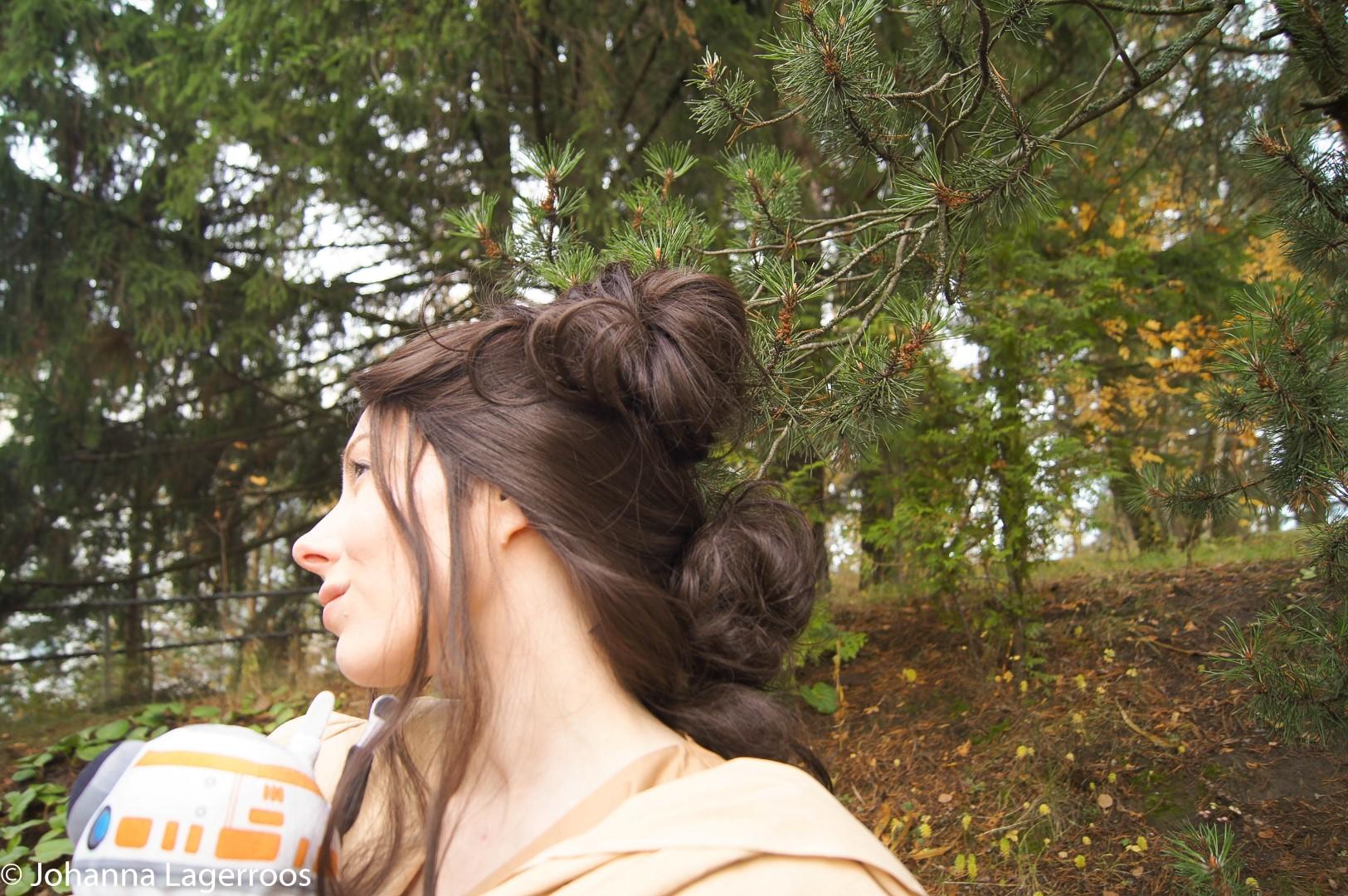 Rey hairdo wig