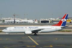7O-ADL Boeing 737-8Q8 Yemenia