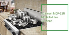Stainless Steel Cookware Set Review : Cuisinart MCP-12N Multiclad Pro Stainless Steel Cookware Set Review
