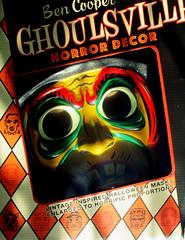 Glitter Witch Jumbo Halloween Mask 2504