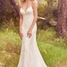 Wedding Dresses : Scalloped hem wedding dress | 'Nola' by Maggie Sottero | trib.al/Hm36zES...