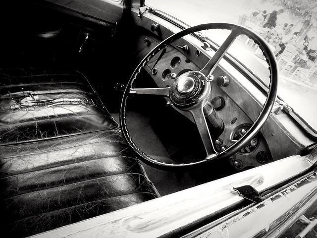 Inside the Rolls Royce Phantom I