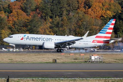 Boeing 737 MAX 8 American Airlines N304RB LN6575