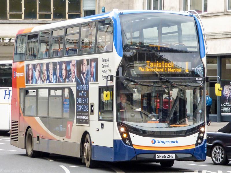 Stagecoach Devon 10490 SN65ZHE