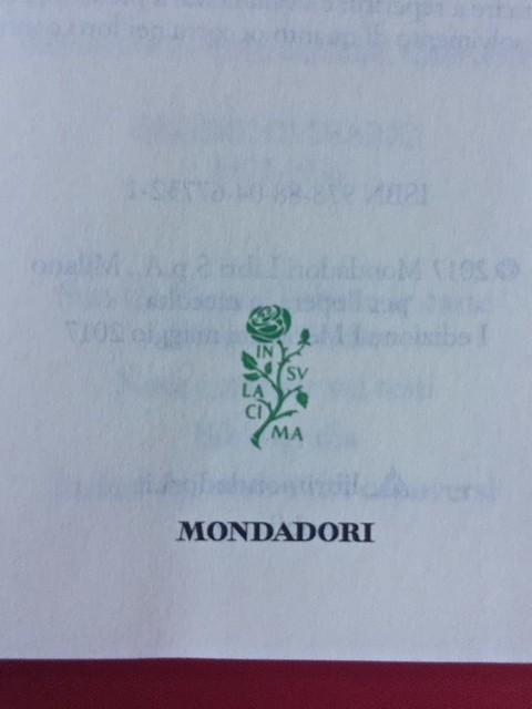 Sandro Penna, Poesie, prose e diari. Mondadori, i Meridiani; Milano 2017. Resp. gr. non indicata. Pag. V: frontespizio [part.].