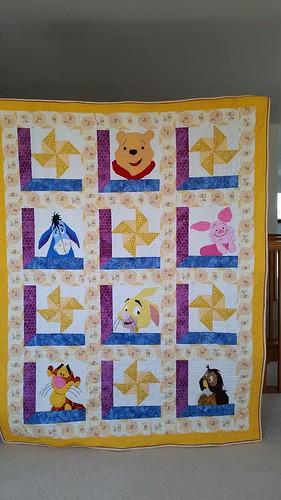 Poor Bear quilt