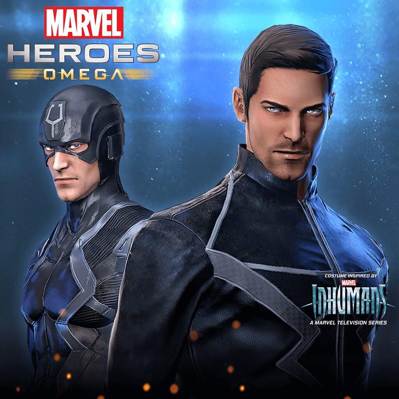 Marvel Heroes Omega – Black Bolt Pack