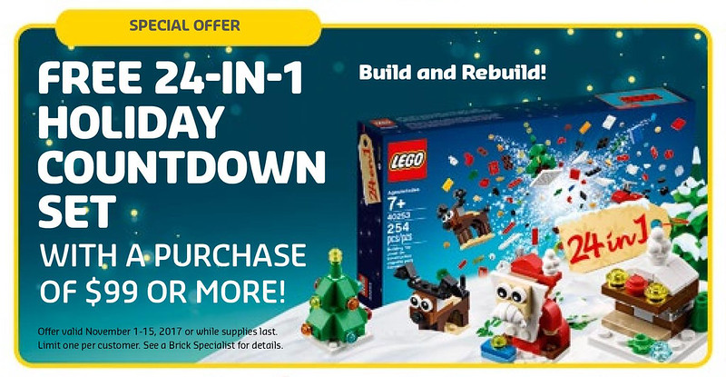 Holiday Countdown 24-in-1 (40253)