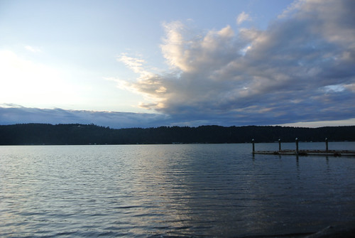 Olympic Mountain Dreams day 4 - Sunset over Hood Canal