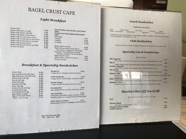 Bagel Crust Cafe