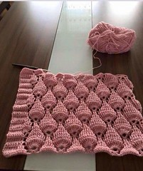 👀❤I loved this model of crocheted shawl, very elegant and charming, see step by step good night ❤