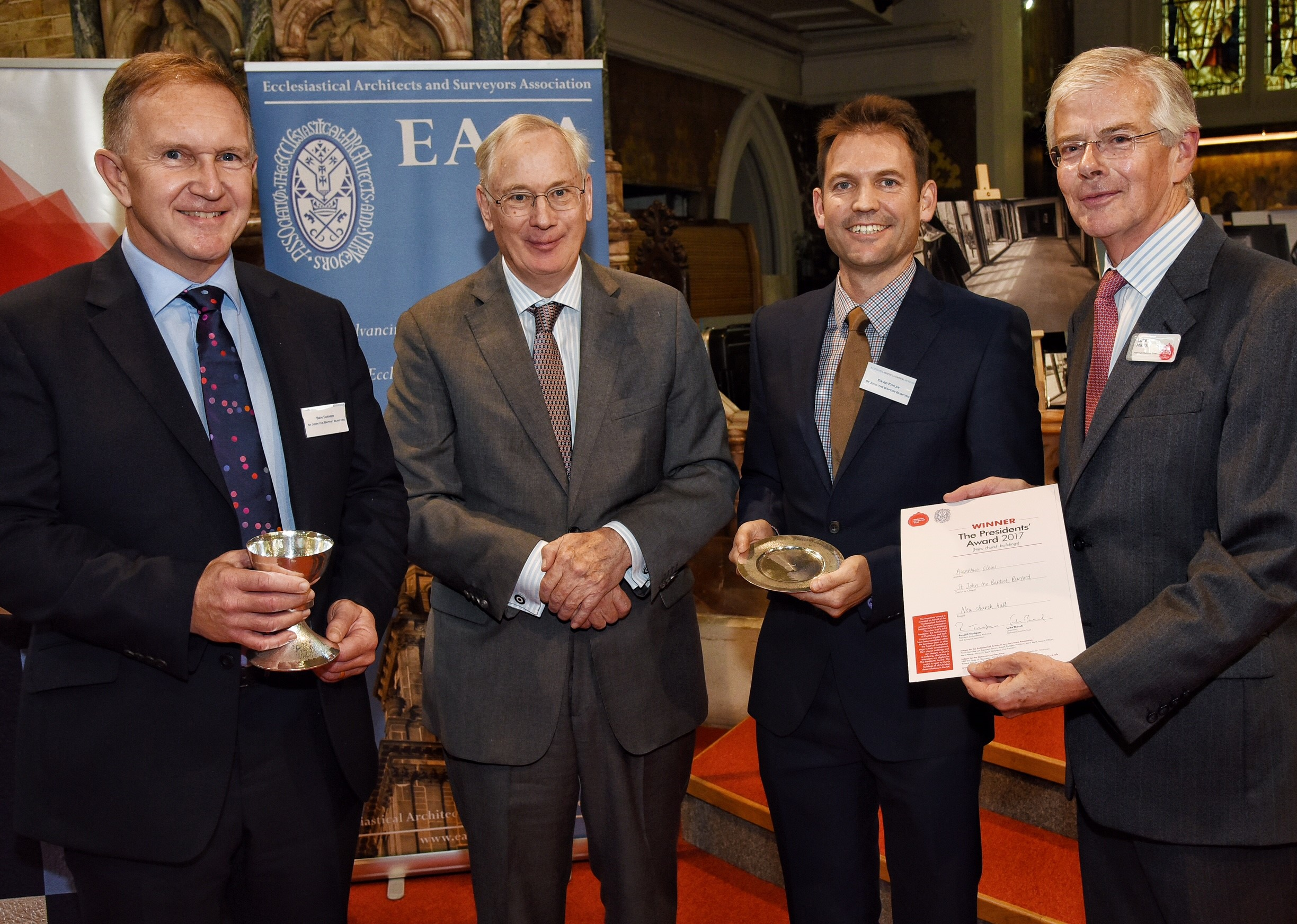 St John the Baptist, Burford and Acanthus Clews Architects, winner of the Presidents' Award for new buildings