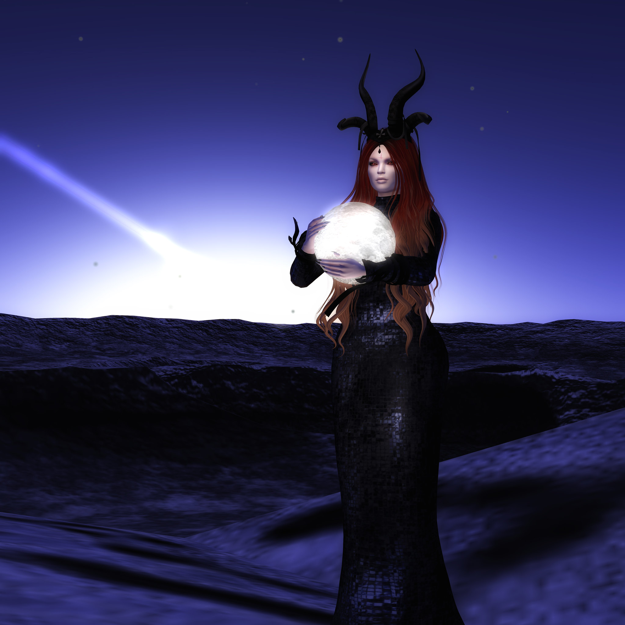 Haven's Moon, SN ( Oct group gift)+ Basia gown, Azul