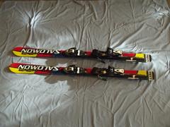 Sjezdové lyže, vel. 130cm - titulní fotka