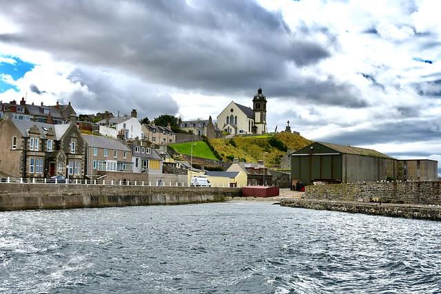 Doune Church - MacDuff Harbour Scotland 2017