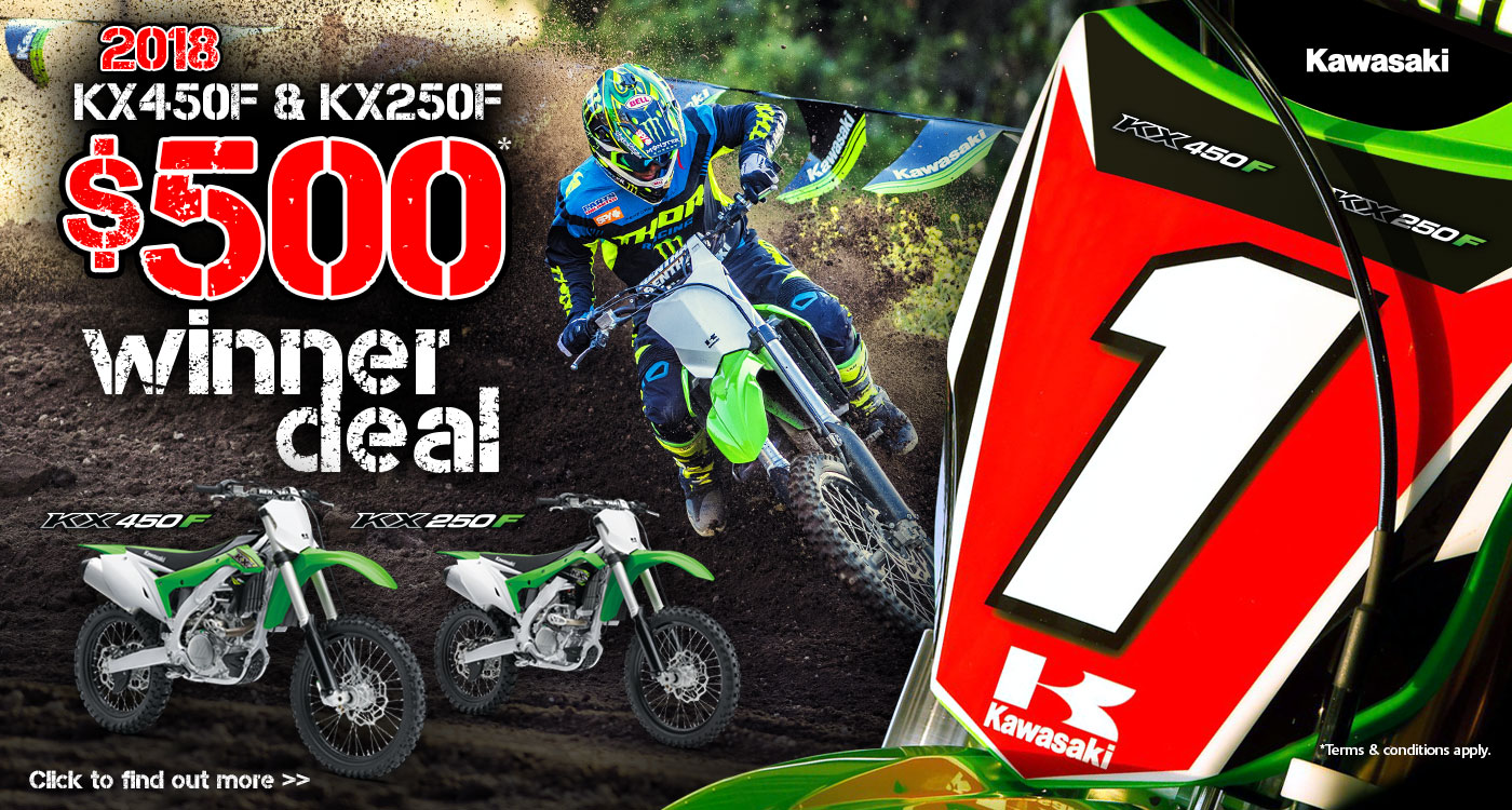 Motocross Winner Deal